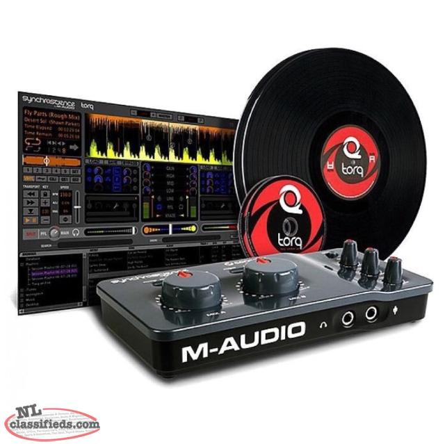 DJ - M-Audio Torq Connective Syncroscience