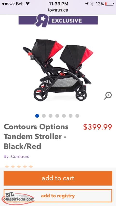Options Elite Double Stroller