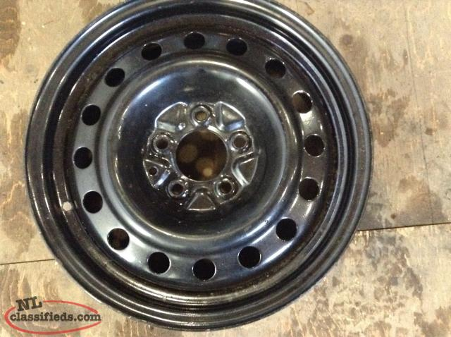 "16"" Steel Rim with 5 lug x 114.3mm Bolt Pattern (Like New)"