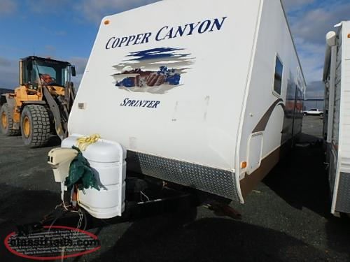 2007 KEYSTONE SPRINTER COPPER CANYON 3121SL