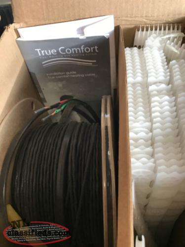 In-Floor Heating Cable Set