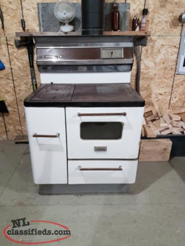 Old fashion oven wood stove