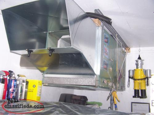 electric hot air furnace