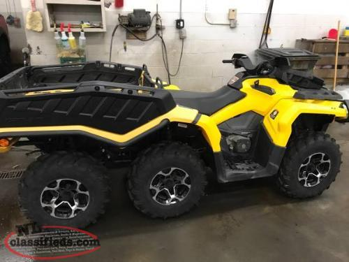 2015 Can-AM Outlander 1000 6x6 ONLY 162 MILES!! RARE FIND