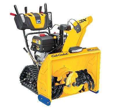 Get your Cub Cadet snowblower today! The best machines available!