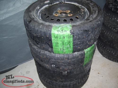 205/55R/16 TIRES & WHEELS