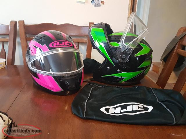HJC helmets from Arctic Cat with Bluetooth.