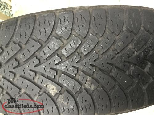 1 ONLY- 205 55 16 Goodyear winter tire