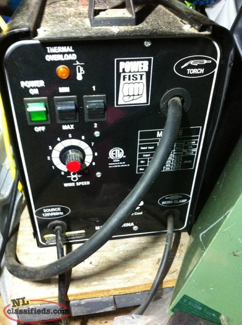 120V Power Fist Mig Welder