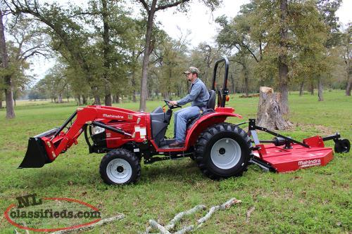 Mahindra 1526 Shuttle with Loader