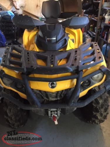 2015 Can-Am Outlander Max XT series