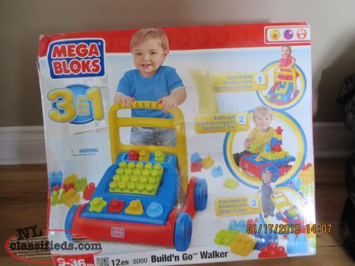 Mega Blocks walker