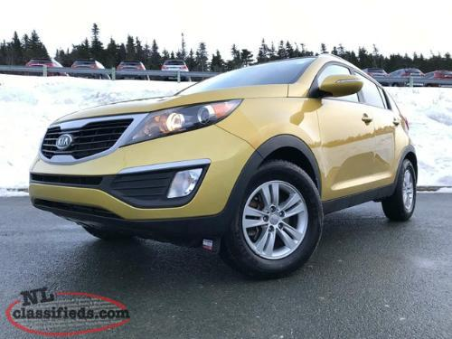 2012 Kia Sportage 2.4L EX FWD at