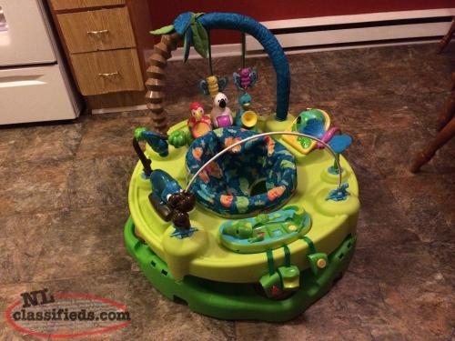 Exersaucer - Musical Toys,Folds,Unisex,Lots of fun!!