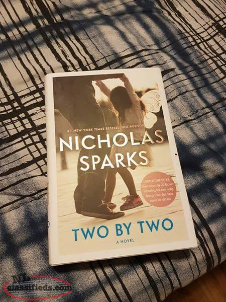 BRAND NEW - Nicholas Sparks - Two by Two