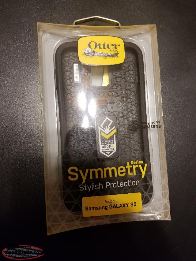 otter box symmetry case for Samsung galaxy s5
