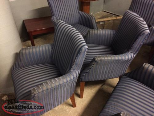 Recliners and tub chairs for sale