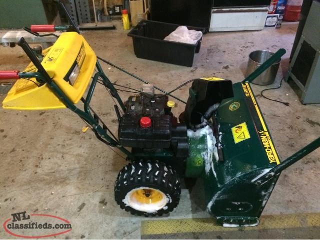 Yard-man Snowblower
