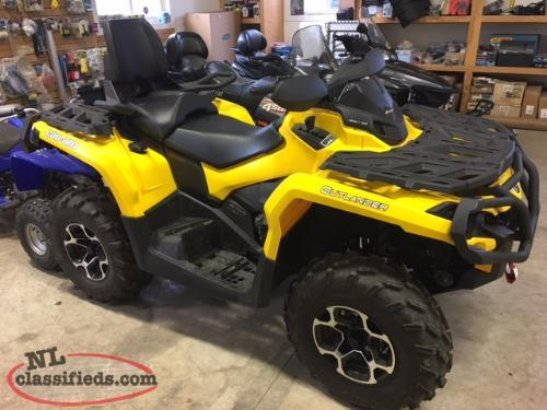 2016 CAN AM OUTLANDER MAX XT 570 2100 K AS NEW $9995.00