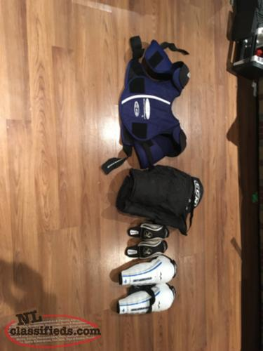 All youth hockey gear in great condition