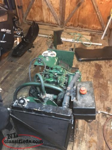 7.5 KW Twin Cylinder Diesel Generator (open to trades)