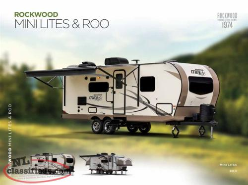 Islander RV welcomes Rockwood Mini Lite Travel Trailers to our lot!