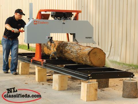 Timbery Sawmills starting at $94 per month!