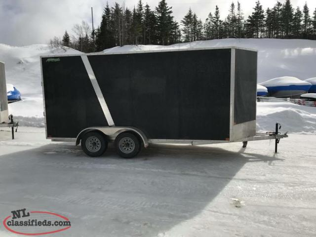 7X16 Enclosed Trailers