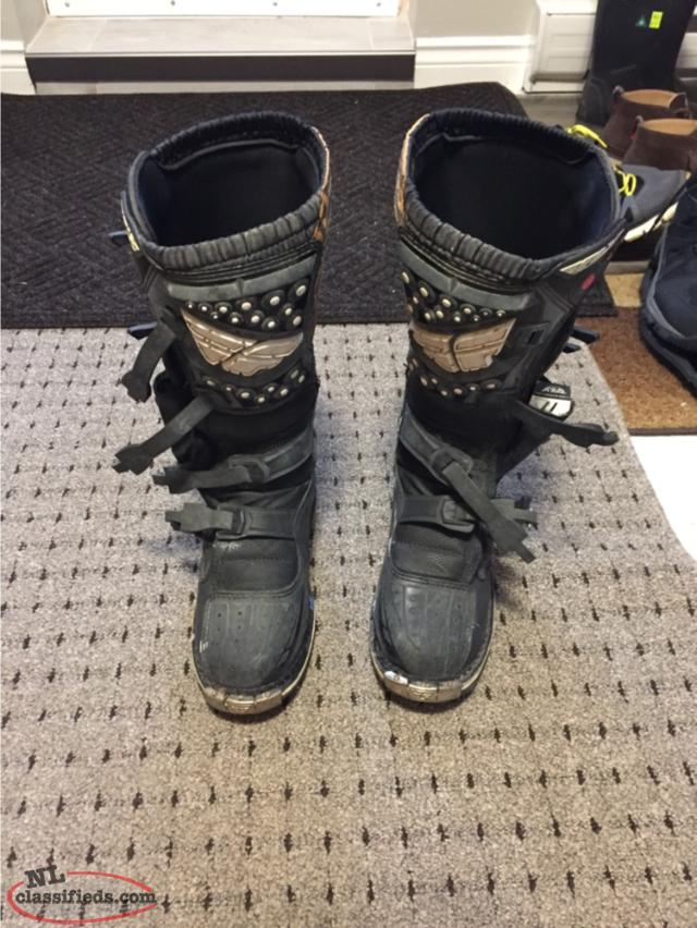 Fly Dirt Bike Boots Size 11