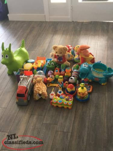 Large lot of toys for cheap