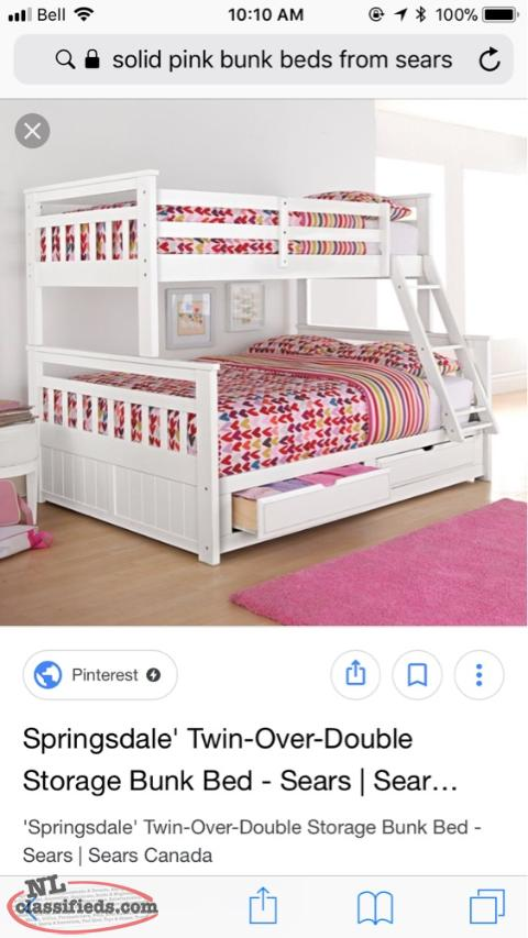 Used Bunk Beds With Mattresses Included