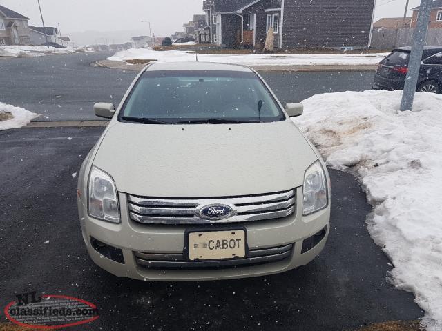 Ford Fusion Tire Size 2014 >> 2008 Ford Fushion - Paradise, Newfoundland Labrador | NL Classifieds