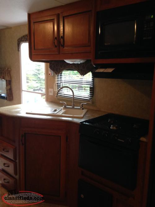 Used Back Bunkhouse Front Queen Bed Camper