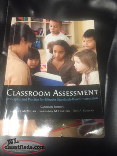 2 Books. Classroom Assessment / Adults Learning