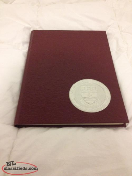 Memorial University MUN Graduation Yearbook 1981-1982