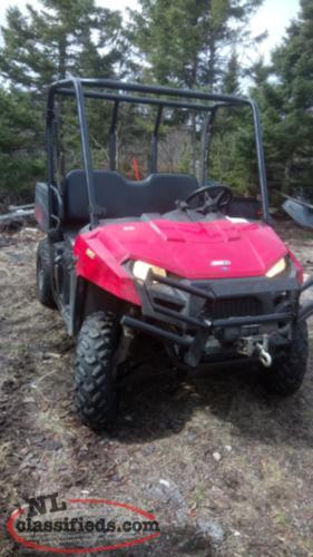 2011 polaris ranger side x side 400 4x4 seats 3 people