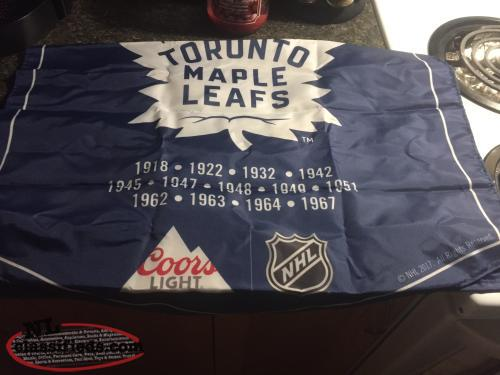 Toronto Maple Leafs Banner / Pittsburgh / New York Banner