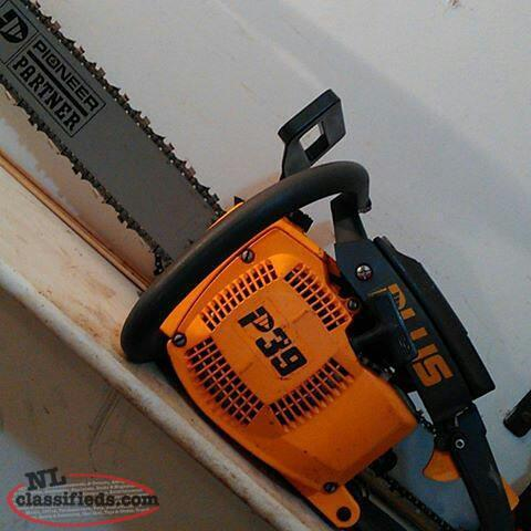 Pioneer Partner P39 chainsaw 66cc 4 hp