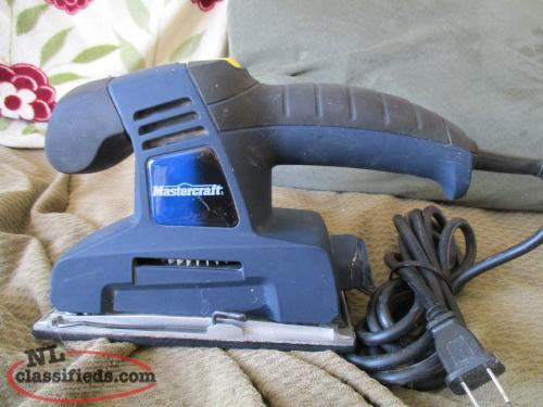MASTER CRAFT SANDER LIKE NEW SEE PICS FOR DETAILS
