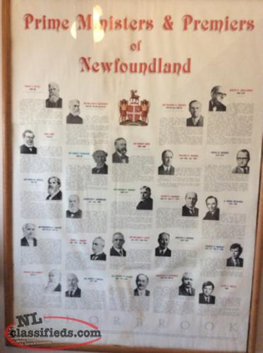 Prime Ministers & Preimers of Newfoundland