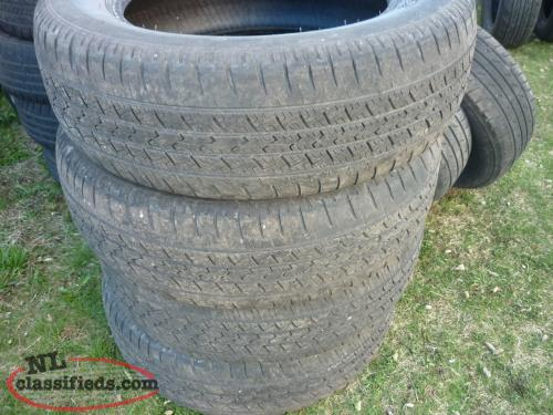 1 18IN. SAVERO HT2 GT RADIAL ALL SEASON TIRE P235/65R18