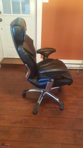 Mint Condition Leather High Back Office Chair
