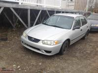 Parting out a 2001 Toyota Corolla and a 2000 Camery