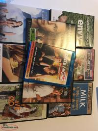 Lot of DVDs in great cond. + Date Night on Blu Ray