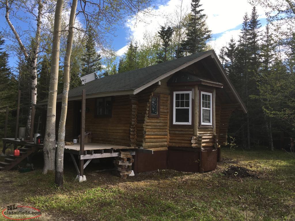 Cabin for sale sw gander lake sandringham for Cabins in newfoundland