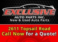 Tires, New & Used Auto Parts - Exclusive Auto Parts
