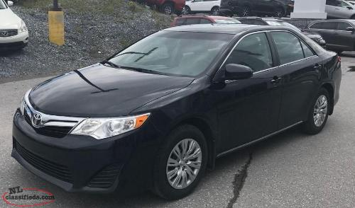 2014 Toyota Camry(47,000 KM) $164.28 Bi Wkly Taxes Included