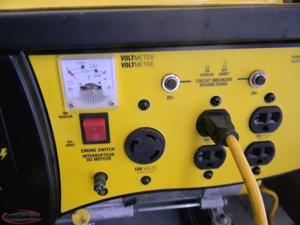 Champion Generator 4000 3000 Watts 782 7381 Paradise Watt Wiring