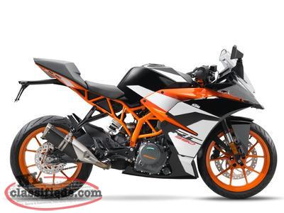 SAVE $1,000 on a BRAND NEW 2017 KTM RC 390