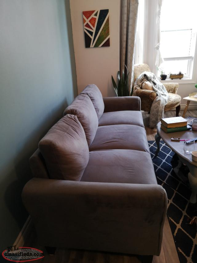 Grey couch, like new